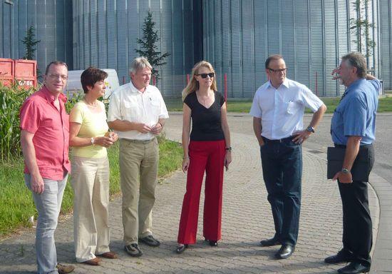 Uwe Hengherr, Elvira Drobinski-Weiß, MdB, Peter Ohnemus, Ulrike Weidt, Karl-Rainer Kopf, Horst Queck