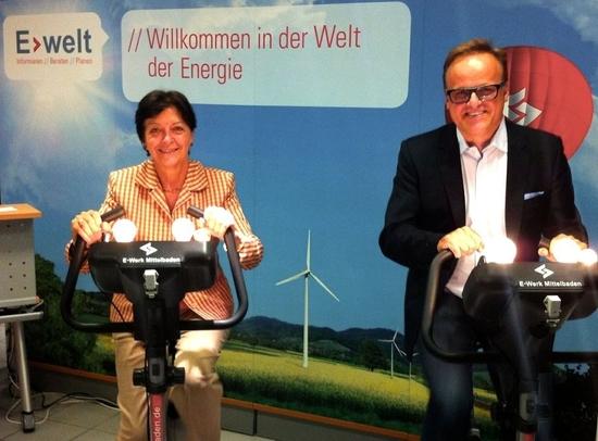 Elvira Drobinski-Weiß, MdB und Kreisvorsitzende mit Karl-Rainer Kopf, stellvertretender Kreisvorsitzender