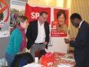 Stefanie Irslinger und Uwe Hengherr im Gespräch